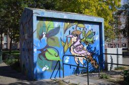 Graffiti art The Hague